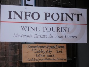 info point wine tourist