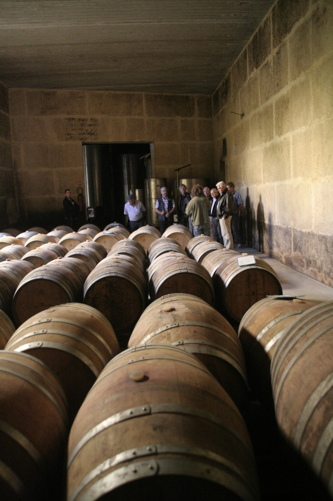 Visite au domaine des Hospitalier - terroir de St Christol en Languedoc