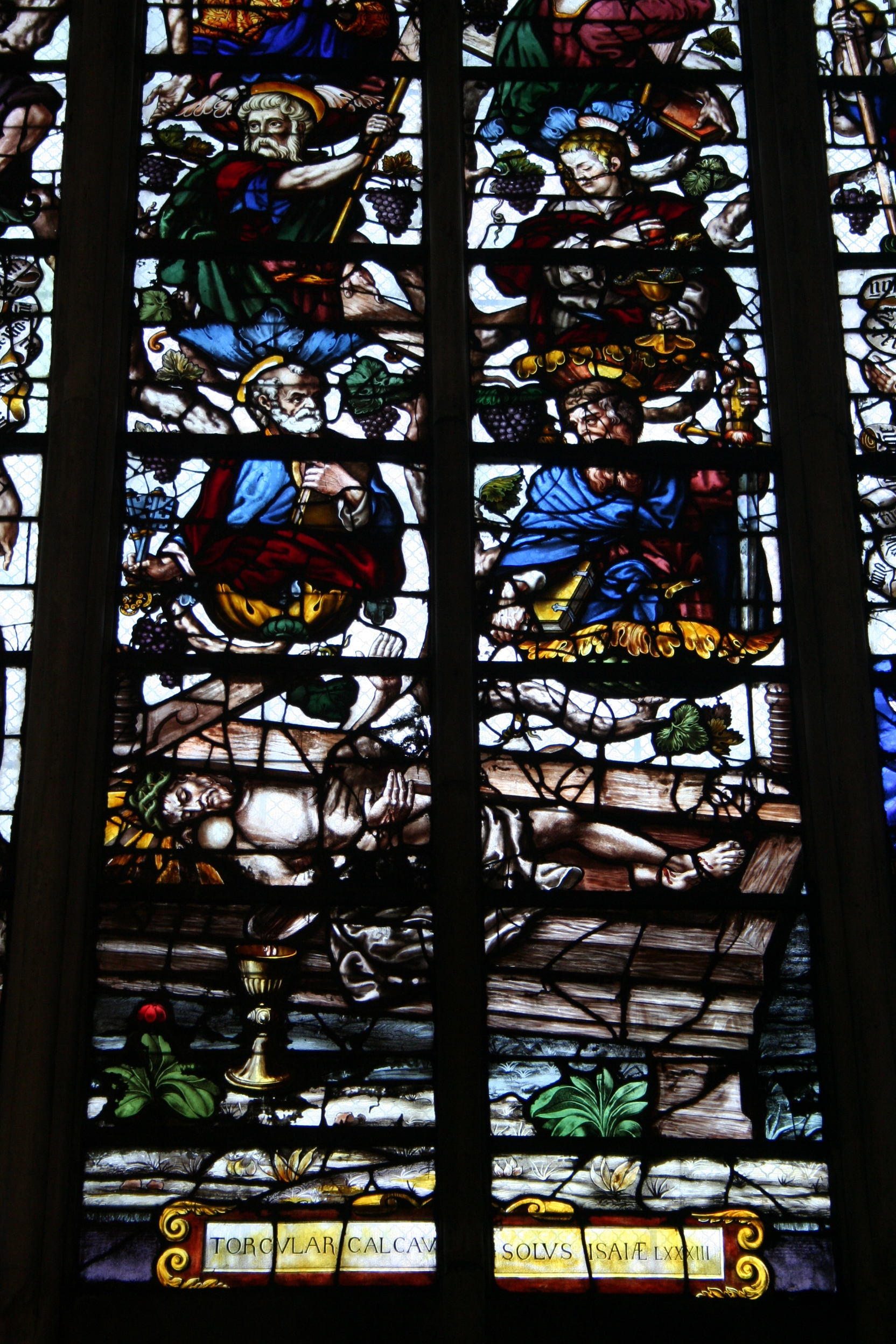 Le pressoir Mystique de la cathédrale St Pierre St Paul de Troyes